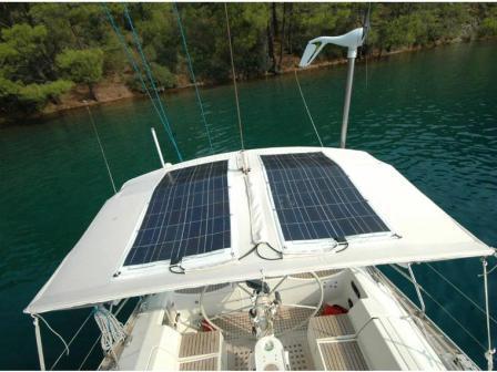 Pannelli fotovoltaici per barche a vela